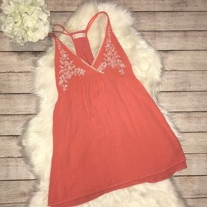 Altar'd State Boho Embroidered Tunic Tank